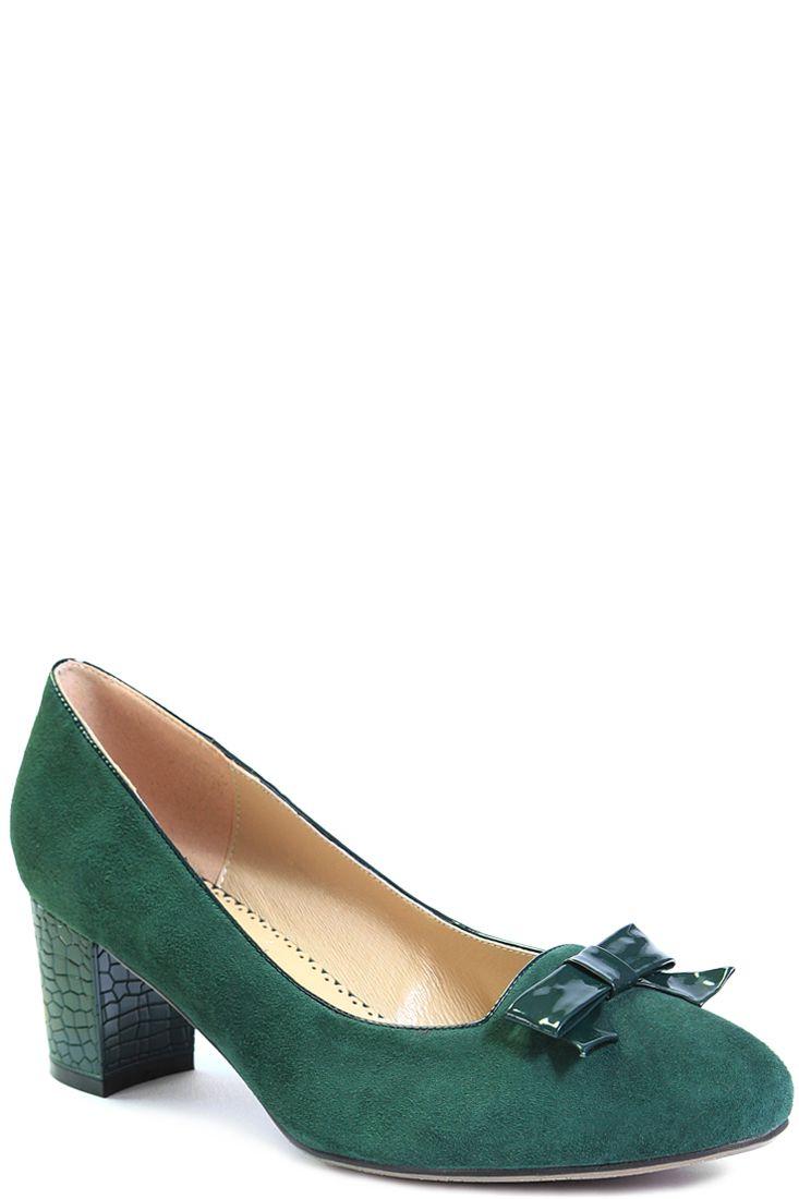 В продаже зеленые туфли