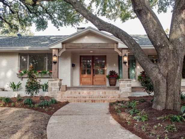 fixer upper midcentury asian ranch goes french country ranch exteriorranch house
