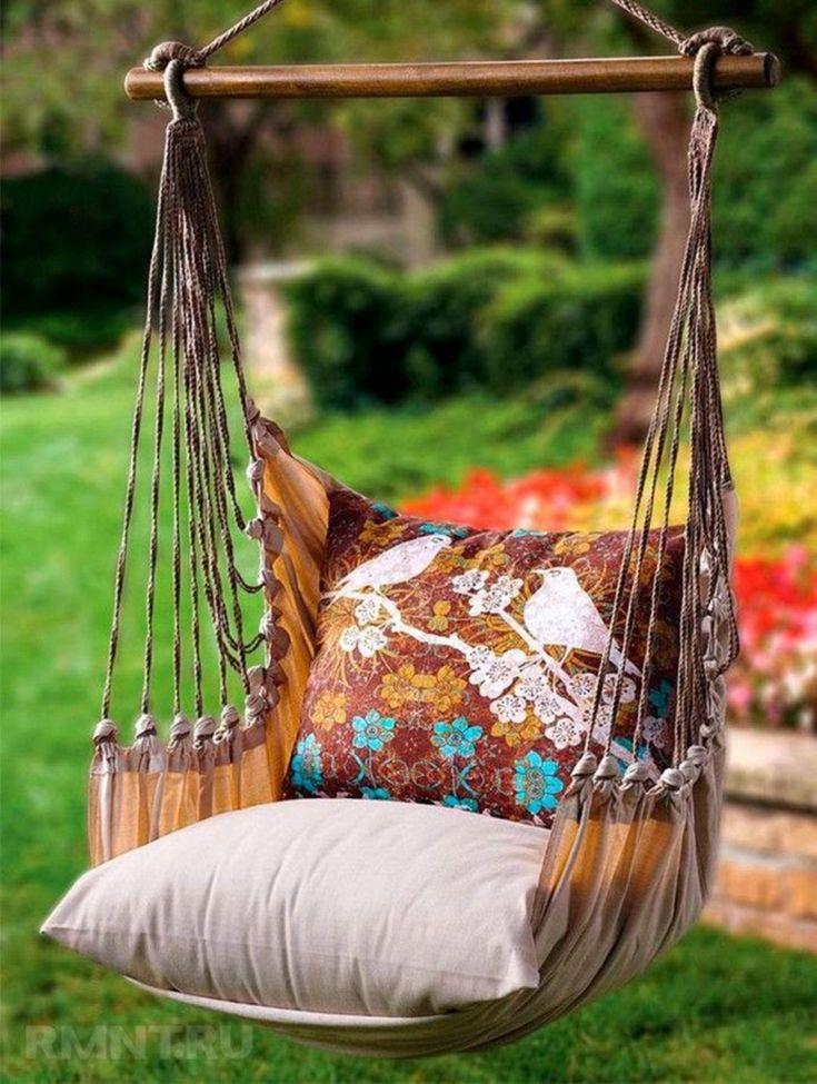 15 incredible diy hammock chair ideas for comfortable