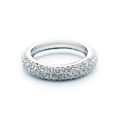 Stone Maeva Clear crystals Pave Ring