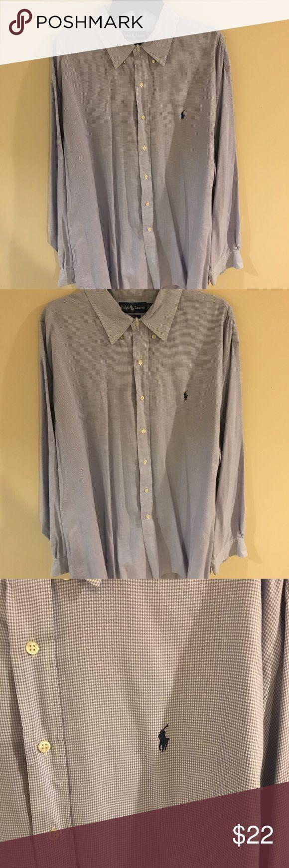 Men's XXL Ralph Lauren Polo/Dress shirt Men's XXL Ralph Lauren polo shirt is pre-owned but it is still in very good condition. Polo by Ralph Lauren Shirts Dress Shirts