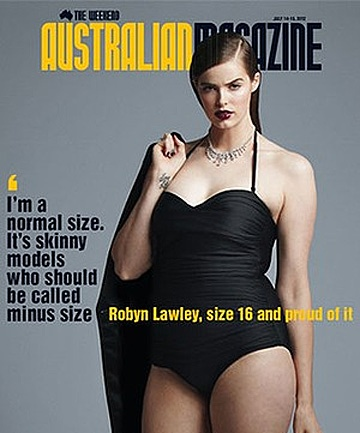 Robyn Lawley, size 16 and proud