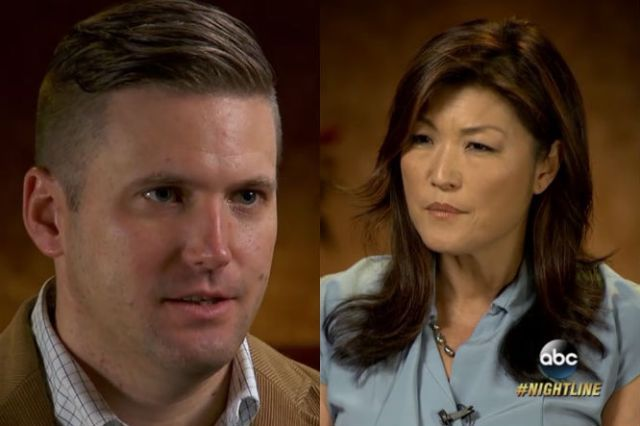 """Juju Chang would not be allowed to live in Richard Spencer's """"ethno-state"""" Asian American journalist Juju Chang has interviewed alt-right white nationalist Richard Spencer. In the clip, Chang discusses Spencer's outlook on life, Trump and his ideal future, which he calls an all white ethno-state. Richard Spencer is the founder of the alt-right movement in …"""