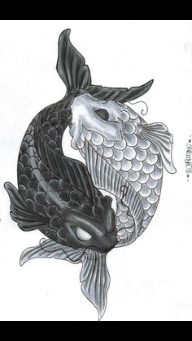 Pin by charis dowell on tattoos for days pinterest for Sick koi fish