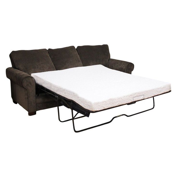 Classic Brands Cool Gel 4.5 in. Gel Memory Foam Sofa Bed Mattress, Size: Twin - 414801-1112