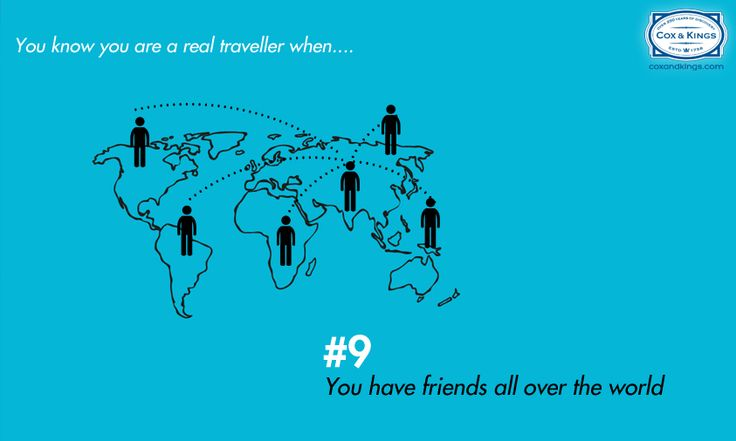 Do you have friends all over the world?