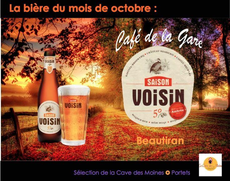 Une bière rousse idéal pour un temps d'automne!  www.cafedelagare-beautiran.com