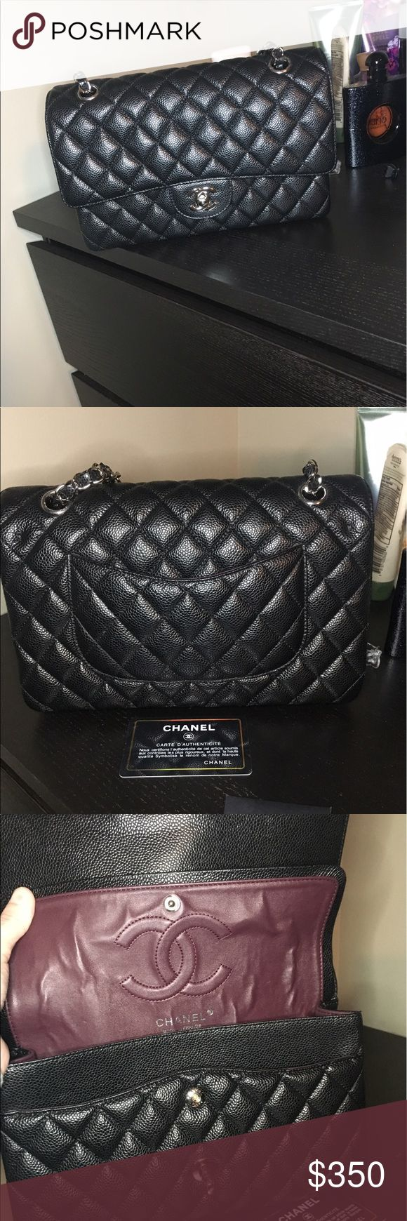 Chanel double flap Top high quality Chanel double flap!:) N O T  A U T H E N T I C. Great condition Bags Shoulder Bags