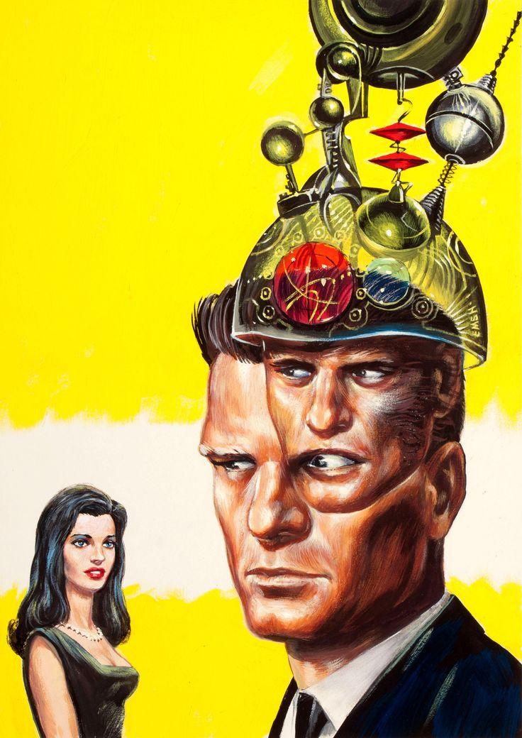 Mind Mate, Amazing Storiescover, July 1964 by Ed Emshwiller (EMSH)