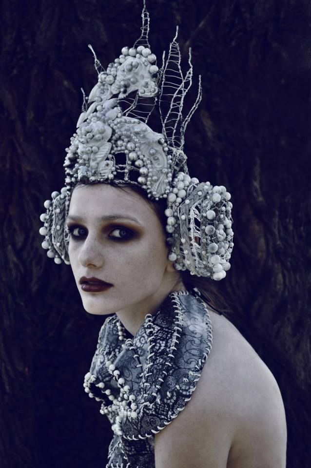 Photographer: Marcin Nagraba - Photography & Art Designer: Agnieszka Osipa costume & fashion designer Makeup: Patryk Nadolny Model: Aneta Cypryańska @ Eastern Models
