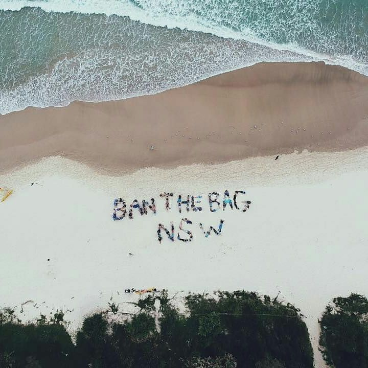 Hey NSW - it's time for you to #BanTheBag! Do us and our oceans this favour.  Thanks @plasticfreemermaid for sharing this amazing shot with us!   #banthebag #plasticfree #nsw #beach #beachcleanup #plasticsucks #zerowaste #plasticpollution #notoplastic #pleaserecycle #plastickills #wepickupplastic #australia #future #oceans #endoceanplastics #greenpeace