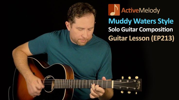 Muddy Waters Style Blues Guitar Lesson - Solo Composition For Acoustic o...
