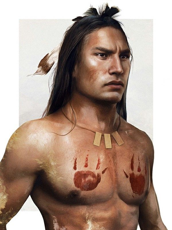 Kocoum from Pocahontas<--- I'm pretty sure this is a painting, and if so, dang! That's talent!