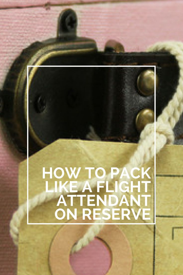cover letter for flight attendant position%0A How Flight Attendants pack while on reserve in October
