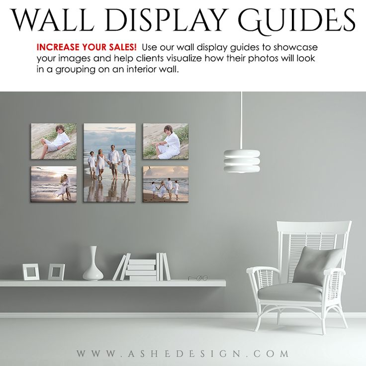 1000 images about photography wall displays on pinterest for Photoshop room templates