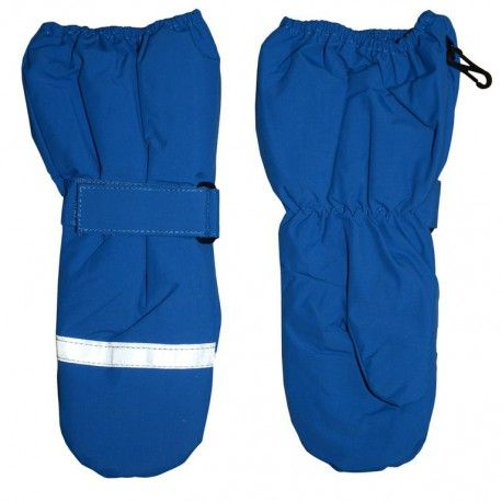Mittens waterproof, breathable, blue, Minymo