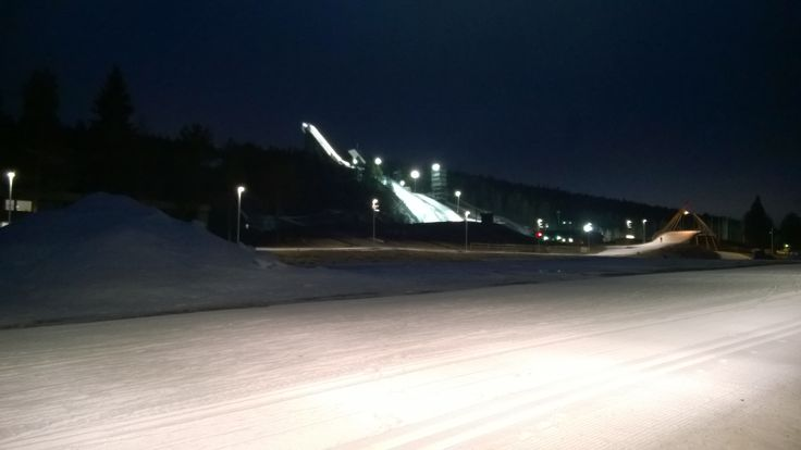 Rovaniemellä on voinut hiihtää jo jonkin aikaa marraskuun alussa 2014.