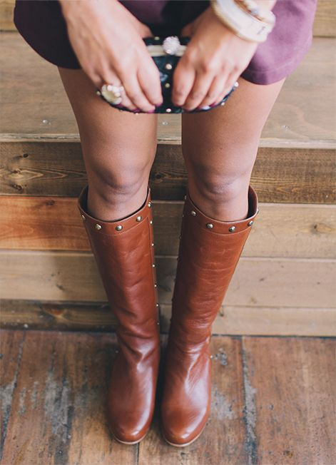 Poppy Barley F/W '13 Lookbook: The Downtown Boot in Kaki, made to your measurements