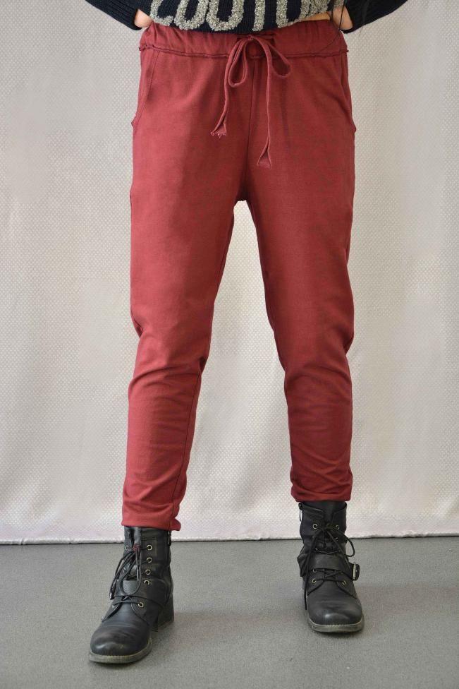 Γυναικείο παντελόνι φούτερ  PANT-5012-bu  Παντελόνια