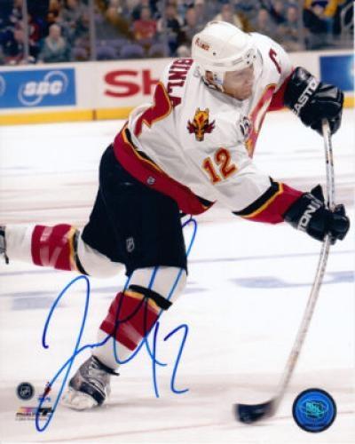 Jarome Iginla Signed 8x10 Photo - Sports Memorabilia