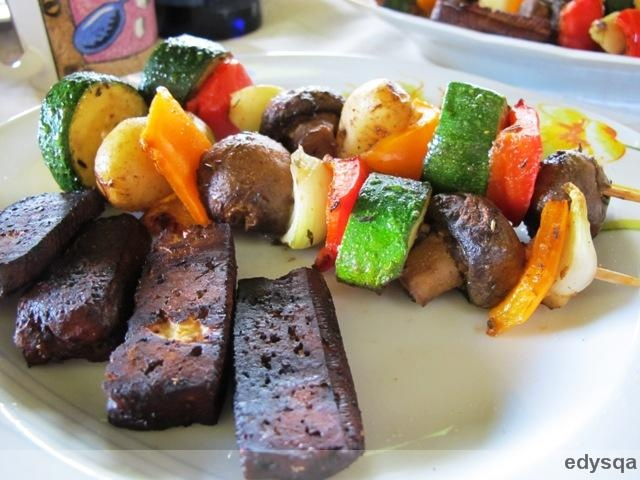 Wegański grill