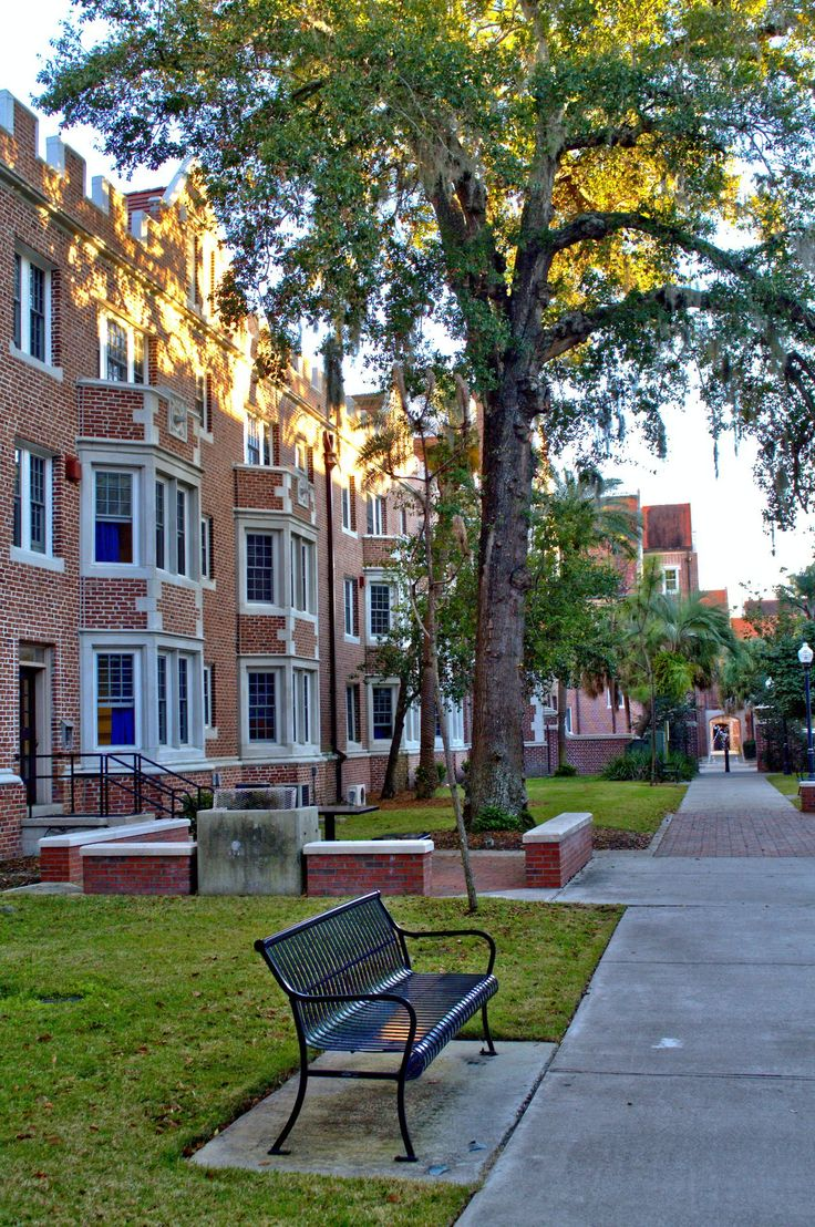 Resident hall at the University of Florida