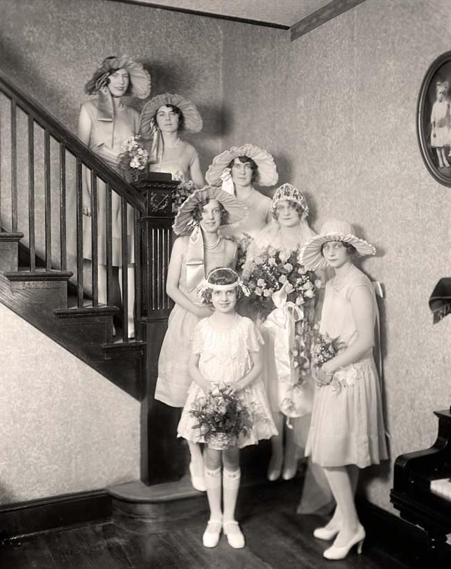 Dressed for a wedding - 1920's