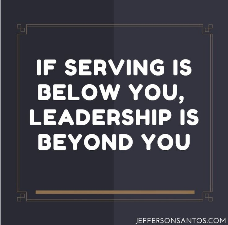 A good leader always leads by example. Set one.#Leadership                                                                                                                                                     More