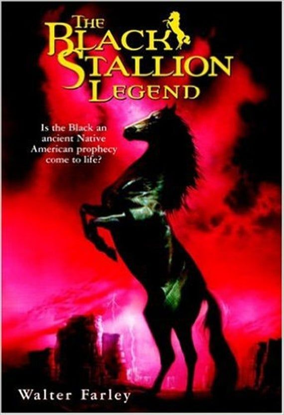 Black Stallion Legend Out Of Print New Etsy In 2021 Black Stallion Stallion Native American Prophecies