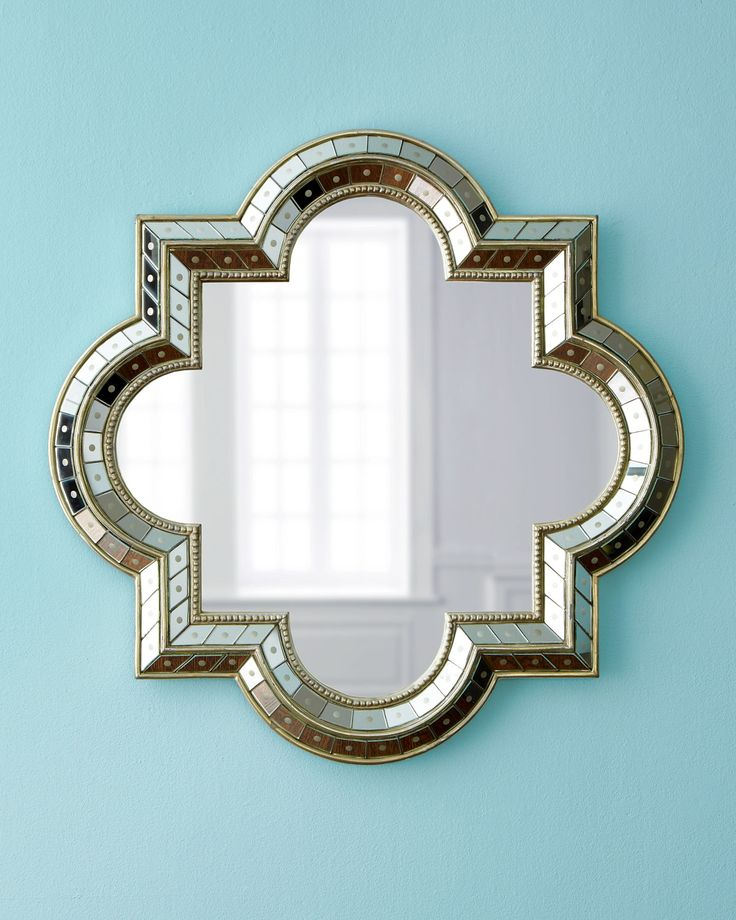 Quatrefoil Mirror Horchow Decoration Deko Pinterest