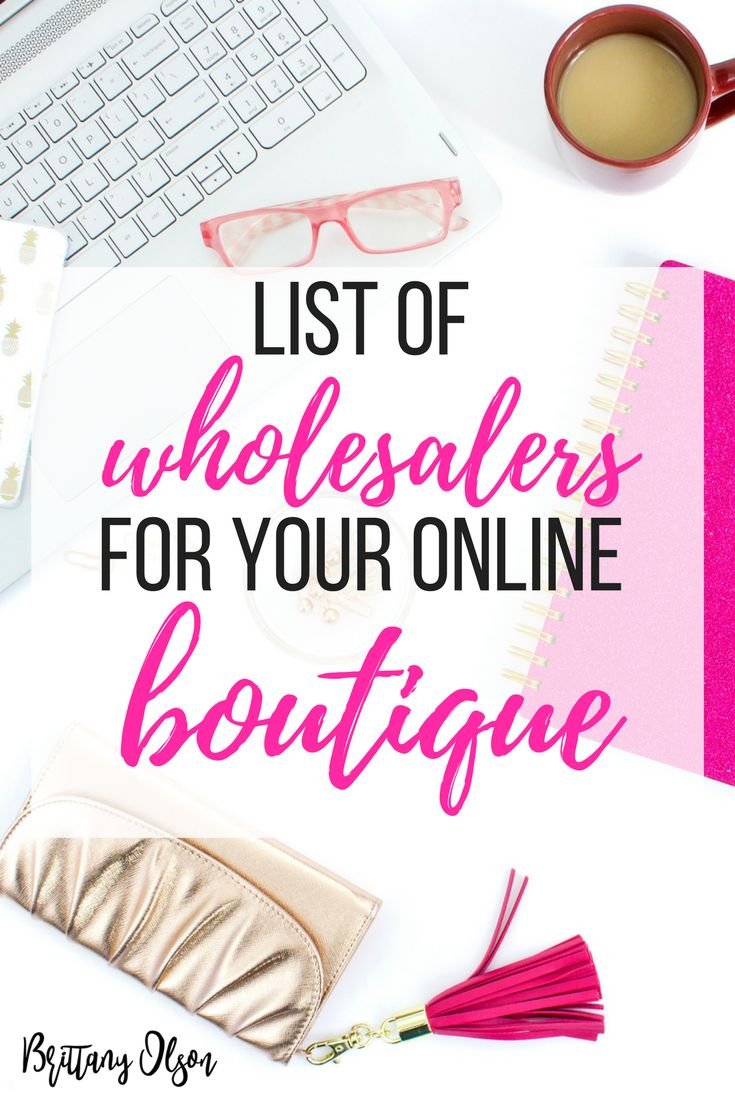 Find wholesalers for your online boutique with our list of boutique fashion clothing suppliers. These womens fashion clothing wholesalers are trusted and recommended wholesale clothing suppliers.