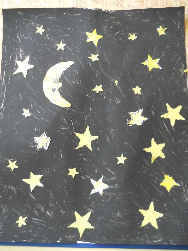 Thema schepping: 4e dag, zon, maan en sterren