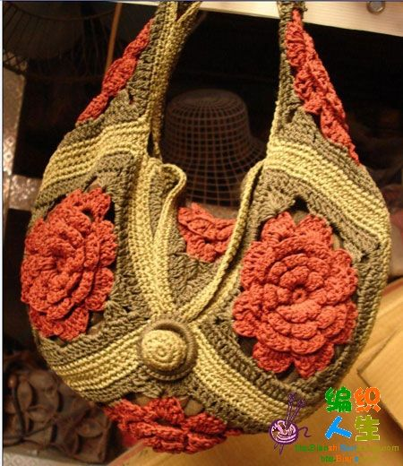 Bags Crochet Patterns Picasa : 236 best images about .......A BAGS. PURSES on Pinterest ...