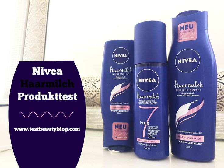 #beauty #nivea #germany #deutschland #haarmilch #testbeautyblog #produkttest #germanblogger