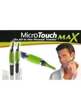 Micro Touch Max Hair Trimmer! Για μικρές και δύσκολες περιοχές