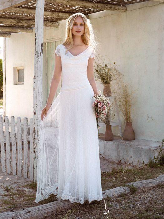 18 besten Hochzeitskleider Bilder auf Pinterest | Hochzeitskleider ...