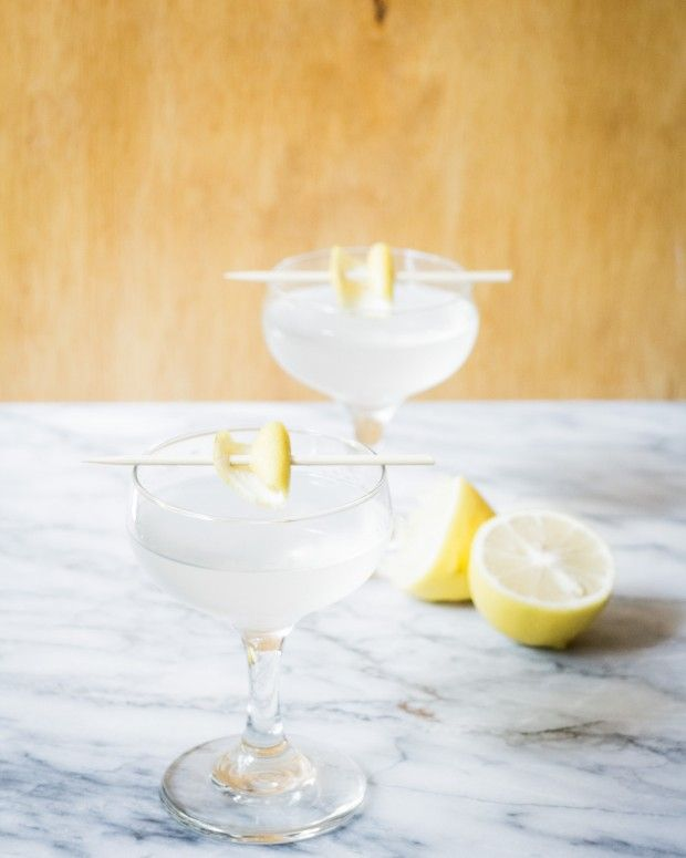 The White Lady Cocktail Is A Simple Concoction Of Lemon