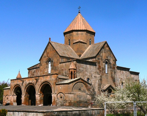 St.Kayane completed in 630, is one of the oldest surviving churches in Armenia