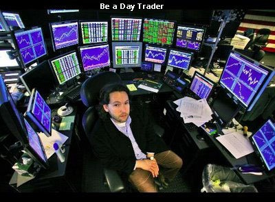 It may look cool to have 30 monitors with streaming quotes ... but that's not what investing is about.