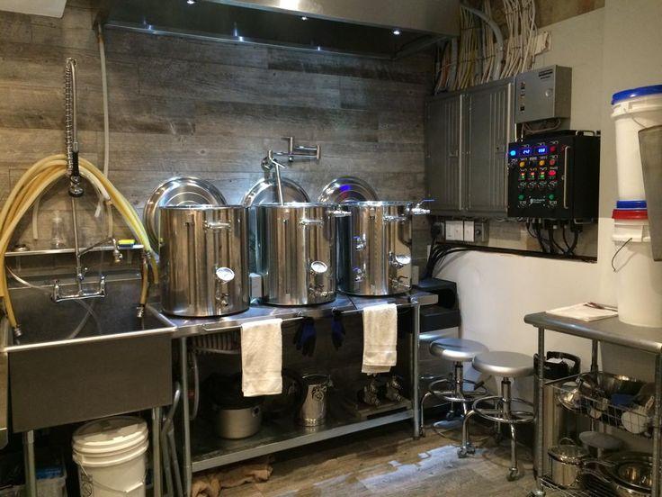 JonyMacu0027s Stillwater Home Brewery Bar Basement Build Thread Electric Brewing