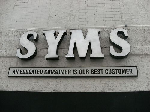 Syms clothing store locations