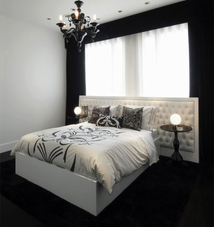 oltre 25 fantastiche idee su camera da letto in bianco e nero su ... - Camera Da Letto Nera E Bianca