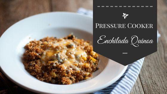 Pressure Cooker Quinoa Enchilada Casserole | Recipe ...