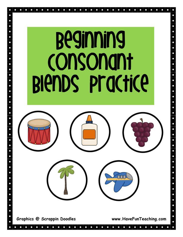 Consonant Worksheet Digraph Sort