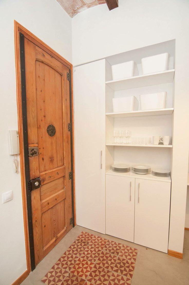 recibidor - cocina #proyectoturisticosants - iloftyou