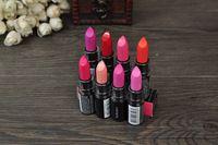 ( 8pcs / lot) de la marca maquiagem labios porras brillo de labios tinte labial mate a prueba de agua de cal cosméticos 14colors para elegir