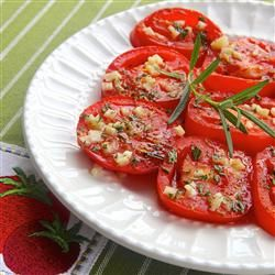 "Baked Tomato Slices | ""If you love fresh ripe tomatoes, you'll love 'em baked!"""