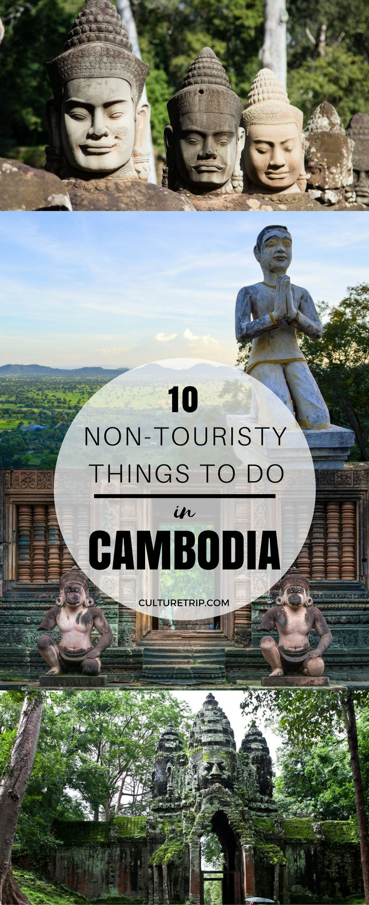 10 Non-Touristy Experiences You Can Only Have in Cambodia|Pinterest: theculturetrip