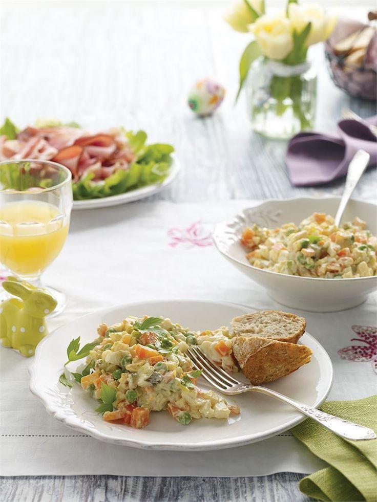 Jadana w polskich domach na co dzień i od święta sałatka jarzynowa tradycyjna wybornie smakuje z Majonezem Omega 3:6. Optymalna kompozycja NNKT omega w tym majonezie sprawia, że witaminy i…