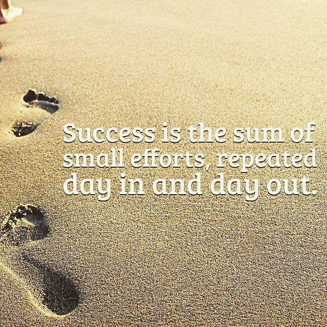 Sukses adalah dari hal kecil yg kita bangun setiap hari  Silakan like jika Anda setuju